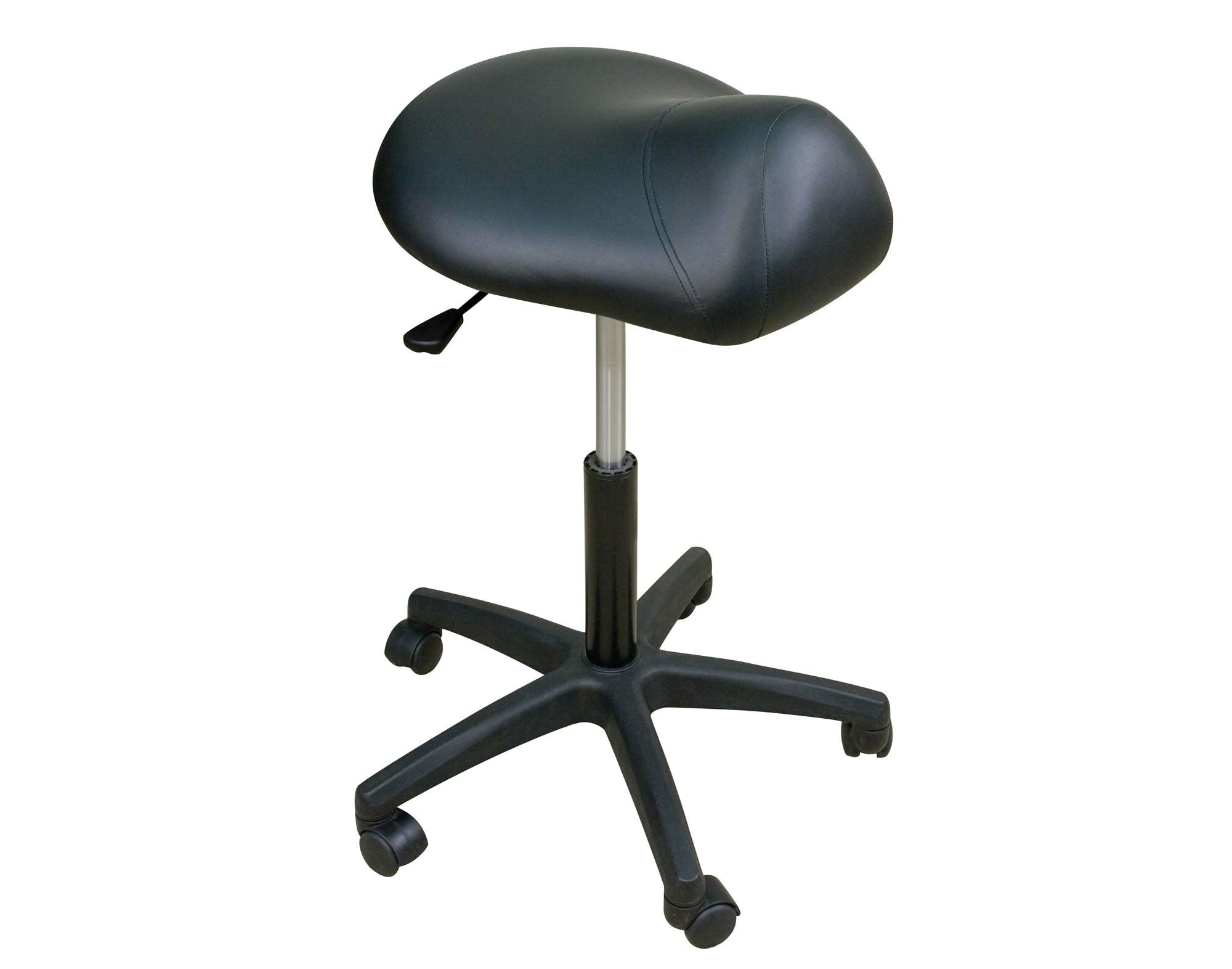 Premium Stool w Saddle Seat