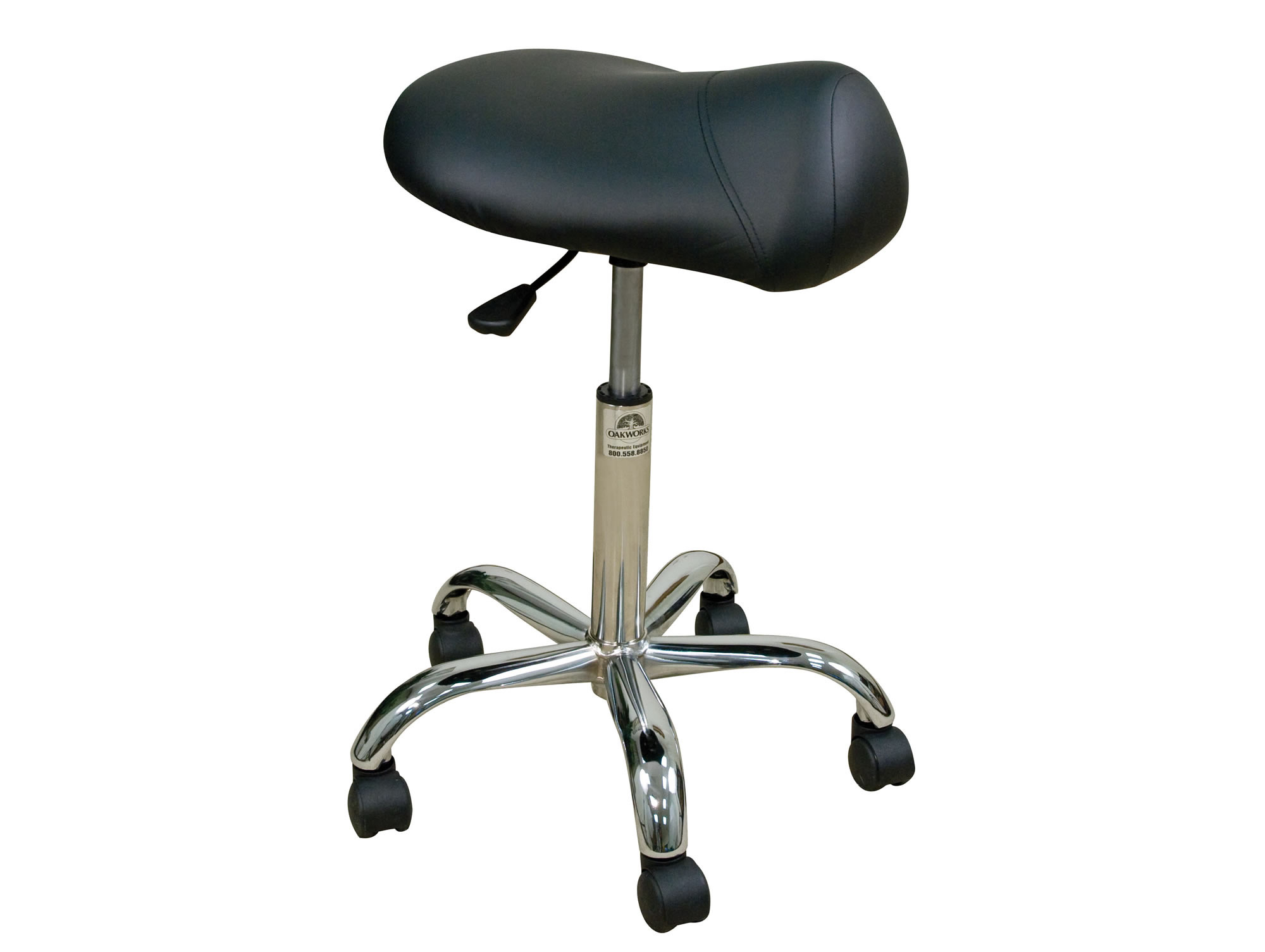 Professional Stool w Saddle Seat